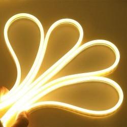 LED strip Smal og fleksibel 5x11 Neon Flex LED - 5M, 6W pr. meter, IP65, 12V