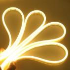 Smal og fleksibel 5x11 Neon Flex LED - 6W pr. meter, IP65, 12V