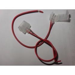 12V Stik til 5mm Neon Flex LED - Passer til 5x11 Neon Flex LED