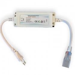 LED strip 230V WiFi Smart Home dæmper - Inkl. endeprop, til 230V (Type Q), max 10m/60W, memory funktion, soft start