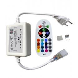 Tilbehør 230V RGB WiFi Smart Home controller - Inkl. endeprop, til 230V, memory funktion