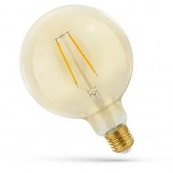 Smart Home Enheder 5,5W Smart Home LED globepære - Virker med Google Home, Alexa og smartphones, Kultråd, G125, E27