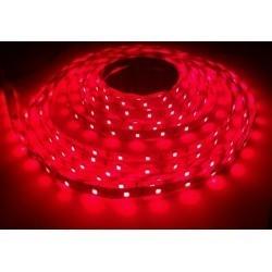 12V Nær infrarød 730nm 4,8W/m LED strip - 5m, IP20, 60 LED pr. meter