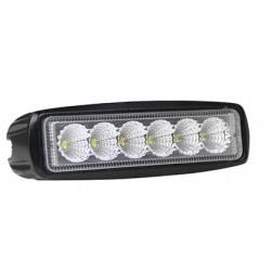 Projektør LEDlife 18W LED arbejdslampe - Bil, lastbil, traktor, trailer, IP67 vandtæt, 10-36V