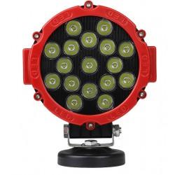 Projektør LEDlife 51W LED arbejdslampe - Bil, lastbil, traktor, trailer, fokuseret lys, IP67 vandtæt, 10-60V