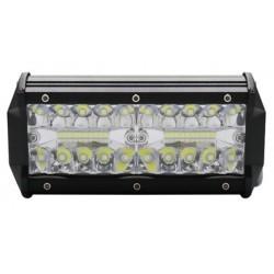 Projektør LEDlife 40W LED lysbar - Lysbro, bil, lastbil, traktor, trailer, kombineret spredning, IP67 vandtæt, 10-30V