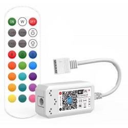 Tilbehør Smart Home RGB controller - Virker med Google Home, Alexa og smartphones, 12V (144W), 24V (288W)