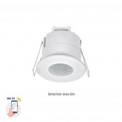Sensorer Smart Home indbygningssensor - PIR infrarød, 360 grader, 230V, IP20 indendørs