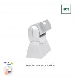 Sensorer Smart Home vægsensor - PIR infrarød, 180 grader, 230V, IP65 udendørs