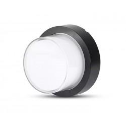 Udendørs væglamper V-Tac 7W LED sort væglampe - Rund, IP65 udendørs, 230V, inkl. lyskilde