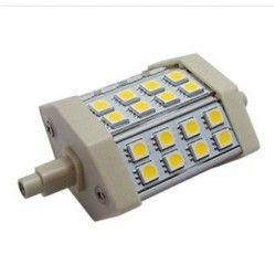 R7S LED LANA5 LED projektørpære - 5W, dæmpbar, varm hvid, R7S