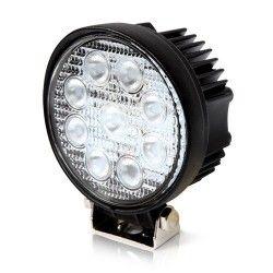 Projektør 27W LED arbejdslampe - Bil, lastbil, traktor, trailer, udrykningskøretøjer, kold hvid, 12V / 24V