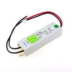 12V IP68 RGB 10W strømforsyning - 12V DC, 0,8A, IP67 vandtæt