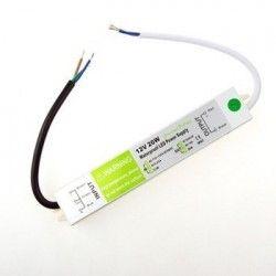 12V IP68 RGB 20W strømforsyning - 12V DC, 1,6A, IP67 vandtæt