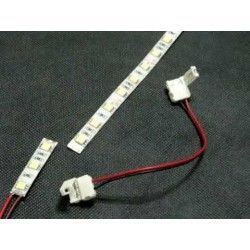 Tilbehør Fleksibel samler til LED strips - Til 5050 strips (10mm bred), 12V / 24V