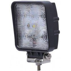 Projektør 15W LED arbejdslampe - Bil, lastbil, traktor, trailer, udrykningskøretøjer, kold hvid, 12V / 24V