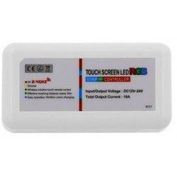 Tilbehør RGB kontroller uden fjernbetjening - 12V (216W), 24V (432W), RF trådløs
