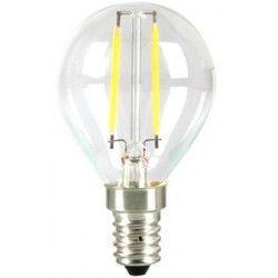E14 LED LEDlife 2W LED kronepære - Kultråd, P45, varm hvid, E14