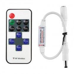 12V IP68 Trådløs dæmper med fjernbetjening - RF trådløs, memory funktion, 12V (30W)
