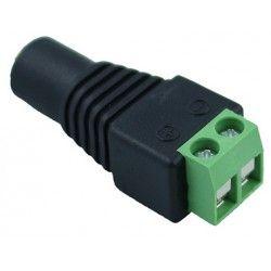 12V IP68 RGB DC hunstik - Med skrueterminaler, max 60W