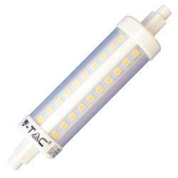 R7S LED V-Tac R7S LED pære - 7W, 118mm, 230V, R7S