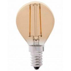 E14 LED LEDlife 2W LED kronepære - Dæmpbar, kultråd, røget glas, ekstra varm, E14