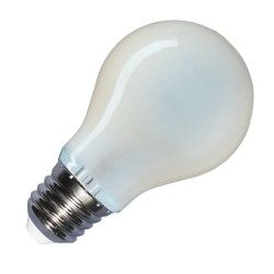 E27 LED V-Tac 8W LED pære - Kultråd, matteret, A67, E27