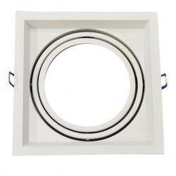 G53 AR111 LED V-Tac indbygningsspot - Hvid, 17,5 x 17,5 cm, G53 AR111