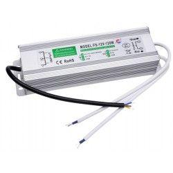 12V IP68 RGB 120W strømforsyning - 12V DC, 10A, IP67 vandtæt