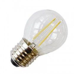 E27 LED LEDlife 2W LED kronepære - Kultråd, E27