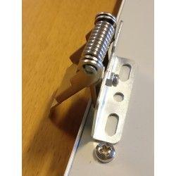 LED Paneler Fjeder holdere til LED paneler - Sæt med 4 stk