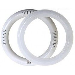 2D kompakt rør 18W LED cirkelrør - Ø30 cm, 230V
