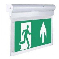 Exit skilte LED V-Tac væg- eller loftmonteret LED exit skilt - 2W, Samsung LED chip, 140 lumens