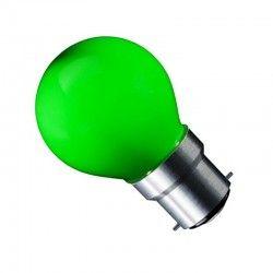 B22 LED CARNI1.8 LED pære - 1,8W, grøn, 230V, B22