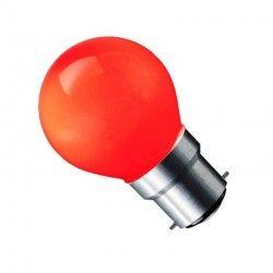 B22 LED CARNI1.8 LED pære - 1,8W, rød, 230V, B22
