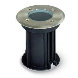 Nedgravningsspot V-Tac nedgravningsspot - Rund, rustfrit stål, GU10 fatning