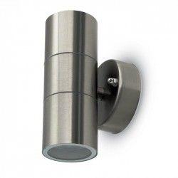 Udendørs væglamper V-Tac væglampe med op/ned lys - IP44 udendørs, GU10 fatning, uden lyskilde