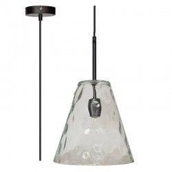 LED pendel V-Tac moderne pendellampe - Kegleformet glas, Ø27 cm, E27