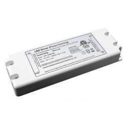 Transformatorer 45W dæmpbar strømforsyning - 12V DC, 4,1A, IP20 indendørs