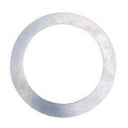 Vådrums indbygningsspots Forstørrelsesring - Hul: Ø7,7 cm, Mål: 12,5 cm, rustfri stål, passer til Inno88