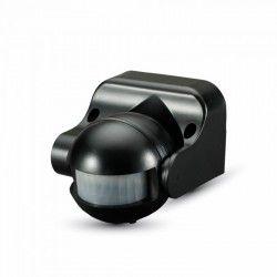 Udendørs væglamper V-Tac bevægelsessensor - LED venlig, sort, PIR infrarød, IP44 udendørs