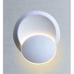 Væglamper V-Tac 5W LED hvid væglampe - Rund, roterbar, IP20 indendørs, 230V, inkl. lyskilde