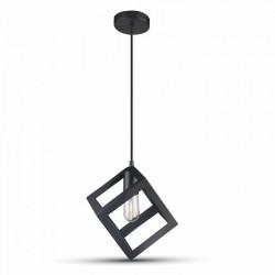 LED pendel V-Tac geometrisk pendellampe - Sort farve, kvadrat, E27