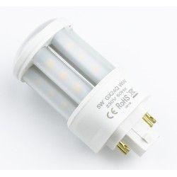 G24Q (4 ben) LEDlife GX24Q LED pære - 5W, 360°, mat glas