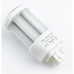 G24D (2 ben) LEDlife GX24D LED pære - 10W, 360°, mat glas