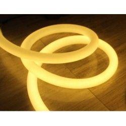 230V Neon Flex Varm hvid D16 Neon Flex LED - 8W pr. meter, IP67, 230V