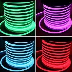 230V RGB Neon Flex RGB 8x16 Neon Flex LED - 18W pr. meter, IP67, 230V