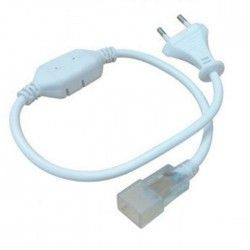 230V Neon Flex Stik til 8x16 Neon Flex LED - Inkl. endeprop, IP67, 230V