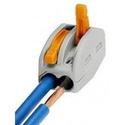 Samledåser Skrueløs samlemuffe til 2 ledninger
