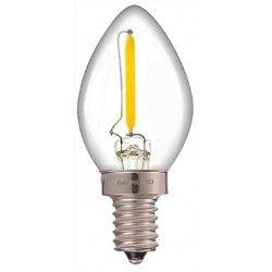 LED pærer og spots LEDlife 0,7W mini pære - Dæmpbar, 230V, E14